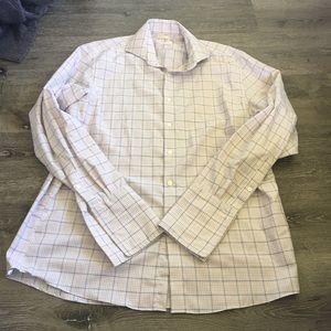 Michael Kors Men's Button Up Dress Shirt